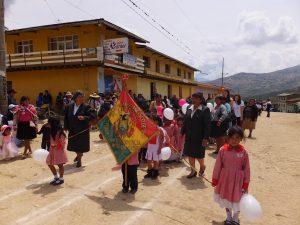Marsch mit dem Kindergarten