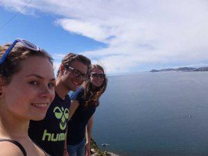 Auf dem Berg Cerro Calvario