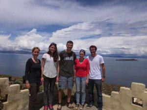 Gruppenbild auf der Isla del Sol