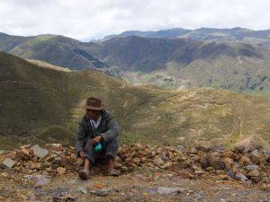 Warten in den Anden