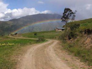 Regenbogen in Cantumarca